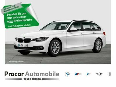 gebraucht BMW 318 d Touring Automatik+Navi+LED+Tempomat