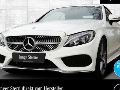 gebraucht Mercedes C180 Cab. AMG LED Airscarf Kamera Navi Totwinkel