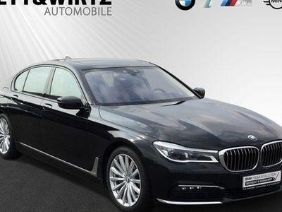 gebraucht BMW 750 d xDrive SAG HUD Navi Laser 19'' WLAN RKamera
