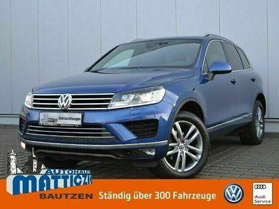 gebraucht VW Touareg 3.0 V6 TDI 262 PS EU6 4Motion Exclusive LUFT/AHK/