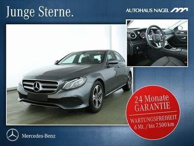 gebraucht Mercedes E220 Avantgarde+9G+SHZ+LED+R-Kam.(EU 6d-TEMP)