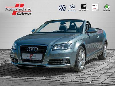 gebraucht Audi A3 Cabriolet 1.8 FSI S line Sportpaket / plus
