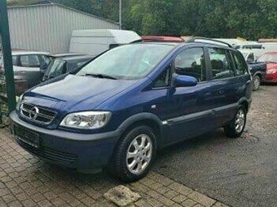 gebraucht Opel Zafira A Njoy BENZIN&Flüssiggs