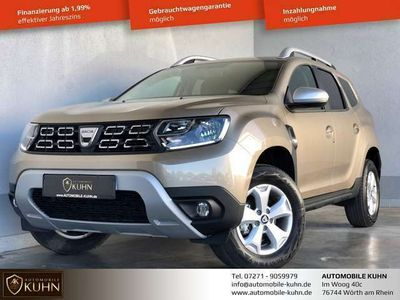gebraucht Dacia Duster COMFORT*TCe100*LPG AUTOGAS*NAVI*KAM*SENS*