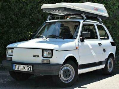 used Fiat 126 Polski *TÜV 03/2020*Fahrbereit*Dachbox*