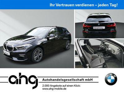 gebraucht BMW 118 i Aut. Sport Line LED-Scheinwerfer Lichtpaket Live Cockpit Plus Business Paket