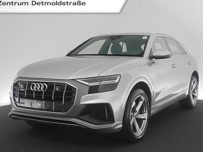 "gebraucht Audi Q8 50 TDI qu. S line 21"" Standhz. AHK B&O Leder Navi R-Kamera tiptronic"