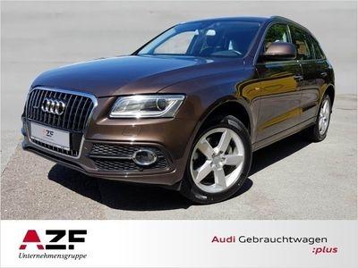 gebraucht Audi Q5 3.0 TDI qu. S-tronic S line+Leder+Standheizung