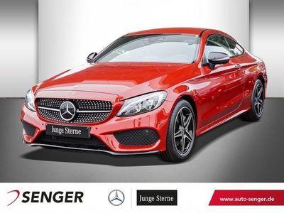 gebraucht Mercedes C300 C 300COUPE AMG-LINE+COMAND+AUTOM.+SHZ+360°KAMERA