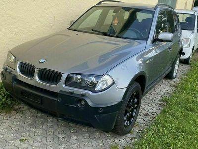 gebraucht BMW X3 mit kennzeichnung von CH