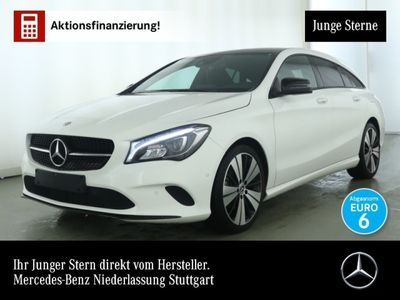 gebraucht Mercedes CLA180 Shooting Brake Urban Pano LED Night Keyl-GO Kamera PTS