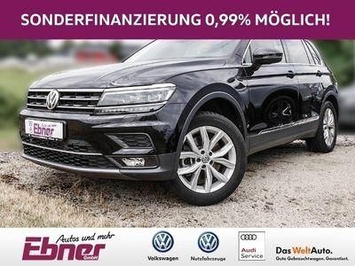 gebraucht VW Tiguan Highline 2.0TDI 240PS NAVI,LED,AHK,HEAD-UP,ACC