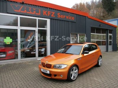 gebraucht BMW 123 d Sonderlackierung Xenon Leder SHZ Gl.-SD *88