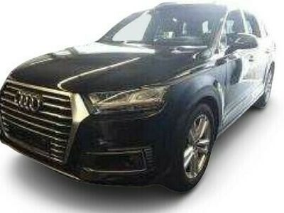 gebraucht Audi Q7 Q7e-tron TDI Q S LINE UPE114 PANO BuO+ LUFT MATRIX HuD