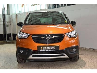 gebraucht Opel Crossland X Ultimate 1.2 Turbo LED Navi Keyless Kurvenlicht HUD Parklenkass. Rückfahrkam.