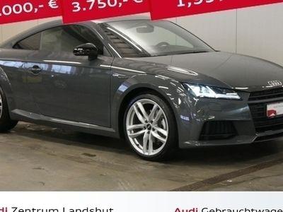 used Audi TT Coupe 1.8 TFSI S LINE LED OPTIK SCHWARZ