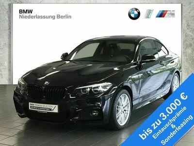 gebraucht BMW 230 i Coupé EU6d-Temp Aut. M Sport LED Navi Prof.
