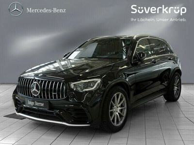 gebraucht Mercedes GLC63 AMG 4M + AHK+Panorama+MBUX+Multibeam+SHZ+PDC+