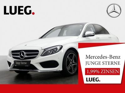 gebraucht Mercedes C350e AMG+Burmester+Pano.-Dach+LED+Kamera+Navi