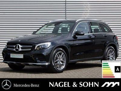 gebraucht Mercedes GLC220 d 4M AMG Line AHK Navi ILS LED Kamera