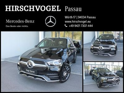 gebraucht Mercedes GLE400 d 4M AMG-Line+AIRMATIC+DISTRON+MBUX+LED