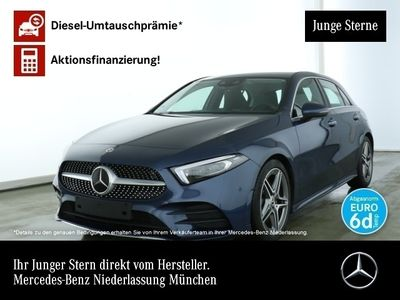 gebraucht Mercedes A220 d AMG Multibeam Navi Premium Distr. HUD PTS