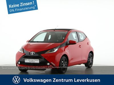 gebraucht Toyota Aygo 1.0 X-WAVE FALTDACH RÜCKFAHRKAMERA KLIMA