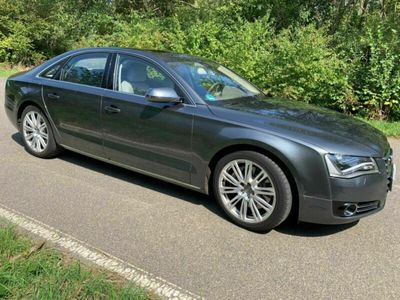 gebraucht Audi A8 4,2 TDI Quattro V8 Bi Turbo, Volla...