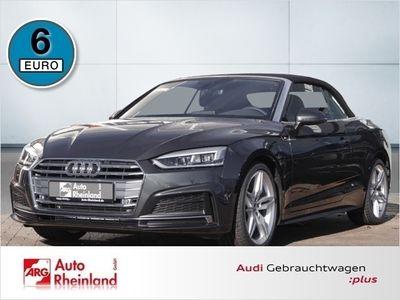 gebraucht Audi A5 Cabriolet sport 40 TFSI S tronic/S Bluetooth Navi