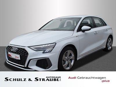 gebraucht Audi A3 Sportback S line 35 TDI KLIMA LED ALU SPHIF -