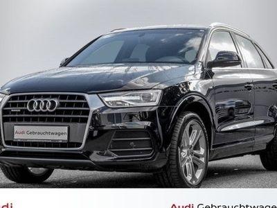 gebraucht Audi Q3 Sport 2,0 TDI quattro 6-Gang XENON NAVI S LINE