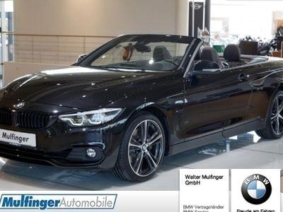 gebraucht BMW 440 i xDrive Cabrio UPE 80.149,- Sport Line Harman