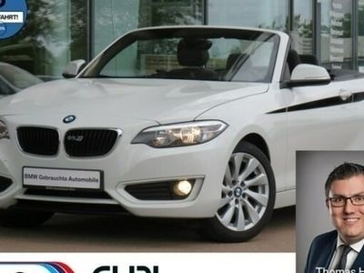gebraucht BMW 220 i Cabrio * Harman & Kardon* Navi *6.Gang*PDC