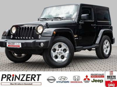 gebraucht Jeep Wrangler Hard-Top 2.8 CRD Automatik Sahara, Gebrauchtwagen, bei Autohaus am Prinzert GmbH