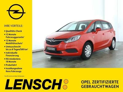 gebraucht Opel Zafira 1.4 AT Edition*AGR-Sitze*Sitzheizung*