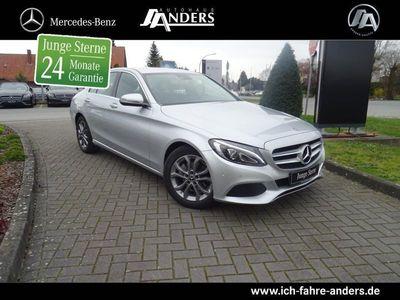 gebraucht Mercedes C180 Avantgarde+Navi+LED+PDC+Klima+Sitzheizung