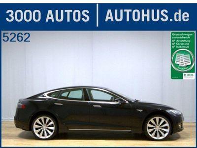 gebraucht Tesla Model S P85 Pano Navi Xenon Leder