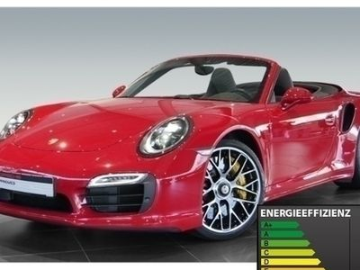 gebraucht Porsche 911 Turbo S Cabriolet 991 3.8 Burmester PDLS+ LED