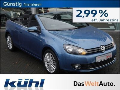 gebraucht VW Golf Cabriolet VI 1.6 TDI BMT Cup AHK (Navi)