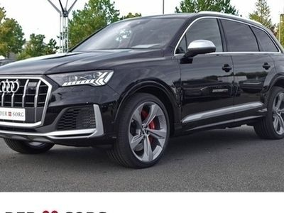 "gebraucht Audi SQ7 TDI Facelift 22""*7-Sitze*Standhzg*AHK Navi Panorama Leder Standheiz"