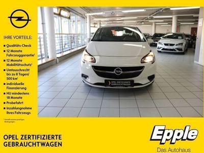 gebraucht Opel Corsa E 1.2 Selection NR RDC Klima AUX ESP Seitenairb. Scheckheft Gar. Radio TRC Airb