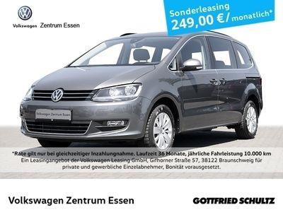 gebraucht VW Sharan Comfortline 1,4 TSI DSG /-Sitzer Navi PDC Winterpaket Alu16