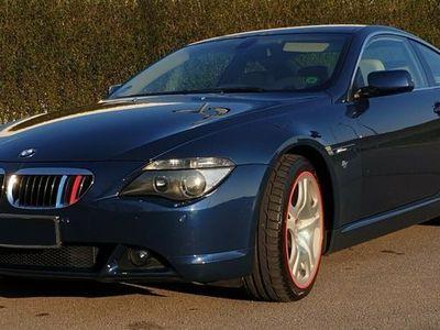 gebraucht BMW 645 ci in Saphirblaumetallic, TÜV/ASU neu