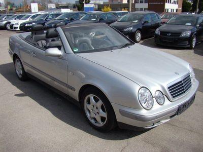 gebraucht Mercedes CLK200 CABRIO SPORT LEDER NAVI KLIMA ALU PDC