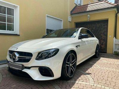 gebraucht Mercedes E63S AMG MercedesDIAMANTWEISS Garantie VO...
