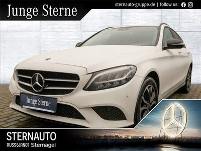 gebraucht Mercedes C220 d T Avantgarde Night-Paket DISTRONIC
