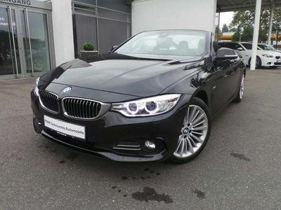 gebraucht BMW 420 d Cabrio Luxury Line/Navi/Leder/Xenon/AHK/PDC
