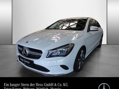 gebraucht Mercedes CLA180 d SB Mopf Navi LED Keyless Go Totwinkel