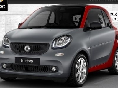 gebraucht Smart ForTwo Coupé 52kW perfect DCT cool&Audio SHZ Pano