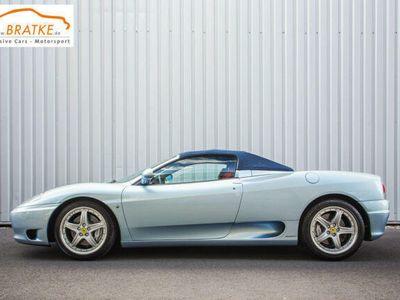 gebraucht Ferrari 360 Spider F1 orig.17tkm, Erstbesitz, Sammler